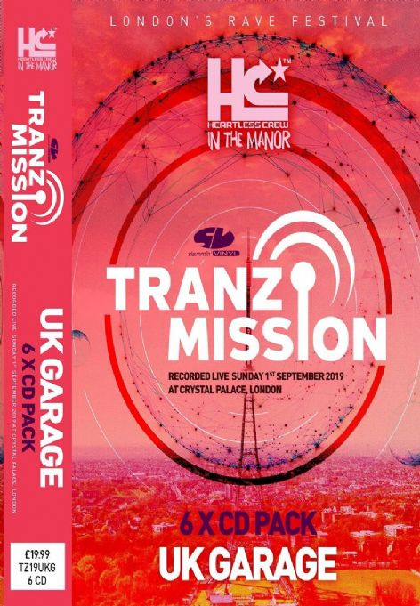 Tranz-Mission - 2019 - Uk Garage - CD pack